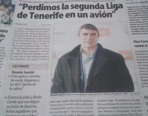Manolo Sanchís en AS.