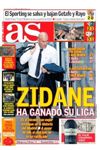 zidane en as